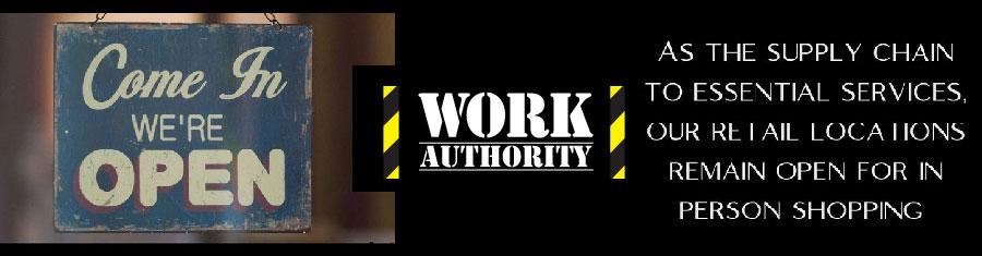 Work Authority Banner